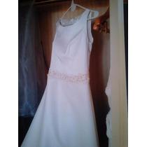 Hermoso Vestido De Novia - Micado De Seda Importado