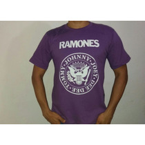 Compre Camiseta Ramones 100% Algodão