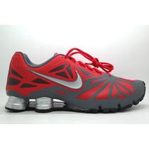 Nike Shox Turbo 14 Vermelho/cinza Frete Grátis Original