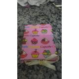 Bloco De Anotações Cupcake