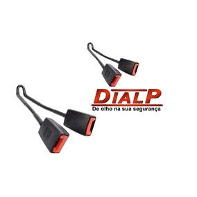 Par Fecho Cinto Segurança Escort Flex Duplo Original Dialp