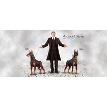 Hot Did Animal Series Doberman Pinscher Red 1/6 Nuevo Toys