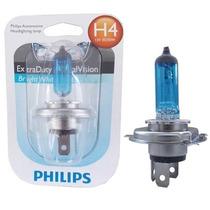 Lampada H4 Bros 150 Ano 2013 2014 2015 Super Branca Philips