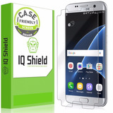 Protector De Pantalla Iq Shield Friendly Para Galaxy S7 Edge