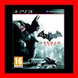 Batman Arkham City Ps3 Digital Oferta !!!