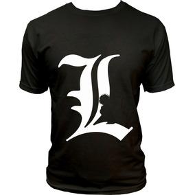 Camisa Camiseta Anime Death Note L Lawliet