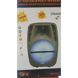 Bafle Amplificado Qfx De 12 Recargable Pbx-bf12