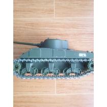 Tanque De Metal Sherman Americano A Escala Orugas De Metal
