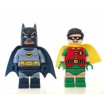 Minifigure Batman E Robin ( Compatível Com Lego )