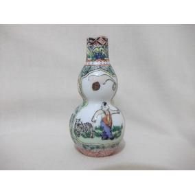 B. Antigo- Vasinho Miniatura Porcelana Chinesa Pintado A Mão