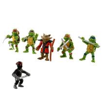 Kit 6 Bonecos Tartarugas Ninjas Tmnt Filme Desenho Brinquedo