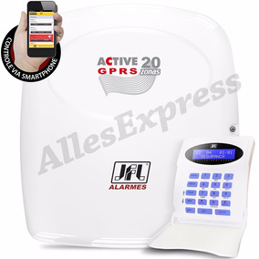 Central De Alarme Monitorável Active 20 Gprs Jfl