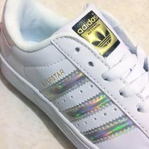 Zapato adidas Superstar Tornasol Originales