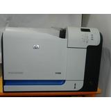 Impresora Hp Color Laserjet Cp3525dn Como Nueva