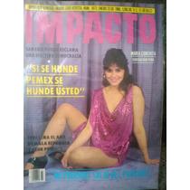 Maria Conchita Alonso En Revista Impacto $ 80.00 Año 1986