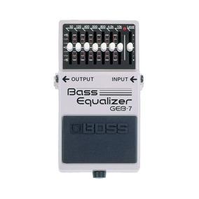 Pedal Para Baixo Boss, Bass Equalizer Geb-7