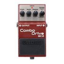Pedal Para Guitarra Boss Marrom Bc-2 Combo Drive