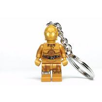 Llavero C-3po Robot Star Wars Guerra Galaxias Lego Comics