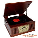 Toca-discos Sonata Cd Usb Fm Grava Do Lp/cd Para Pendrive