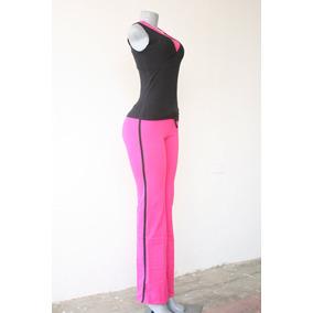 Pantalon Bota Recta Mono Deportivo Cotton Licra Davids Gym U