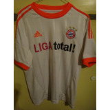 Camiseta Fútbol Bayern Munich Alemania 2012 2013 Ribery #7 M