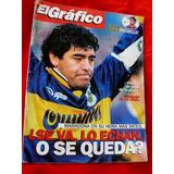 Revista El Gráfico - Maradona - Ano 1996
