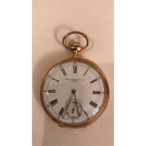 Relógio De Bolso Patek Phillipe Ouro Rosé