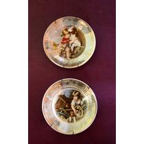 Platitos Decorativos De Porcelana Heatmaster - England -