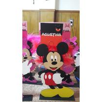 Centros De Mesa Mickey, Minnie, Frozen, Kitty, Batman Y Mas