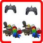 Kit Arcade 2 Comandos 20 Botoes Nylon 2 Control Usb