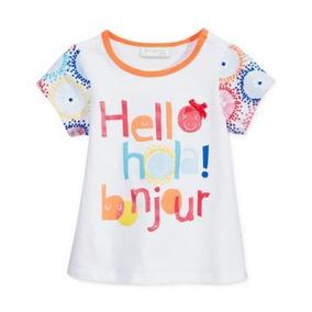Camiseta First Impressions Niña 3 A 18 Meses Estampada