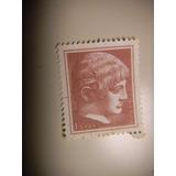 Selo Grécia - Arte Antiga - Novas Cores E Valores- 1 Dr 1958