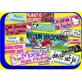 200 Etiquetas Personalizadas Marcar Ropa Guarderia Kinder