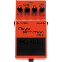 Pedal Boss Md-2 Mega Distortion / Md2 Loja Fisica