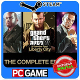Grand Theft Auto Iv Complete Edition Pc Steam Cd-key Gta4