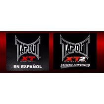 Tapout 1 Y 2 Baja De Peso Digital Envio Gratis No Insanity