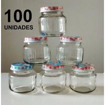 100 Potes De Papinha Nestle Vazios 120 Gr Lembrancinha Festa