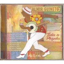 Cd Almir Guineto - Todos Os Pagodes - Novo***
