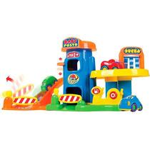 Baby Posto Gasolina Lava Rápido Brinquedo Infatil 512 - Bigs