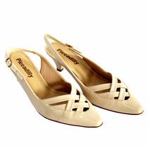 Sapato Feminino Scarpin Piccadilly Chanel Bico Fino 744009