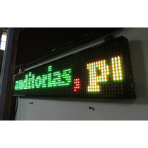 Tablero Led Tricolor Programable Anuncio Display Exterior