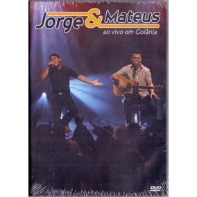Dvd Jorge & Mateus - Ao Vivo Em Goiânia - Novo***