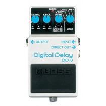 Pedal Boss Dd3 Digital Delay Na Cheiro De Música Loja !!