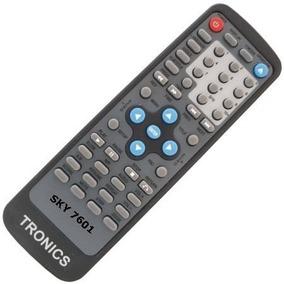 Controle Remoto Para Dvd Tronics Modelo 250