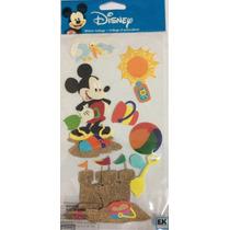 Adesivo Sticko Autocolante Ek Sucess - Fun In The Sun Mickey