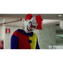 Fantasia Palhaço Assassino Terror Mascara Roupa Frete Gratis