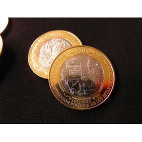 Moneda 20 Pesos Centenario Constitucion En Capsula Nueva