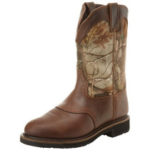 Botas Justin Stampeede Camo - Impermeables - Sin Casquillo