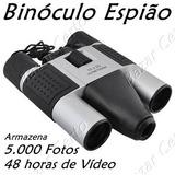 Binóculo Espião Câmera Digital 5.000 Fotos - Vídeo 48 Horas
