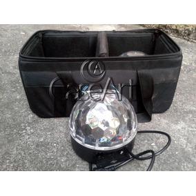 Soft Case, Bolsa, Bag Para 2 Bolas Maluca Cristal Led